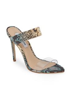 Steve Madden Amaya Clear Slide Sandal (Women)