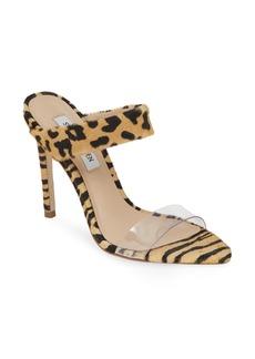 Steve Madden Amaya Genuine Calf Hair Slide Sandal (Women)