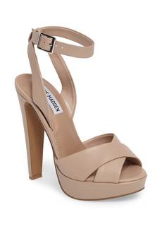 Steve Madden Andrea Cross Strap Platform Sandal (Women)