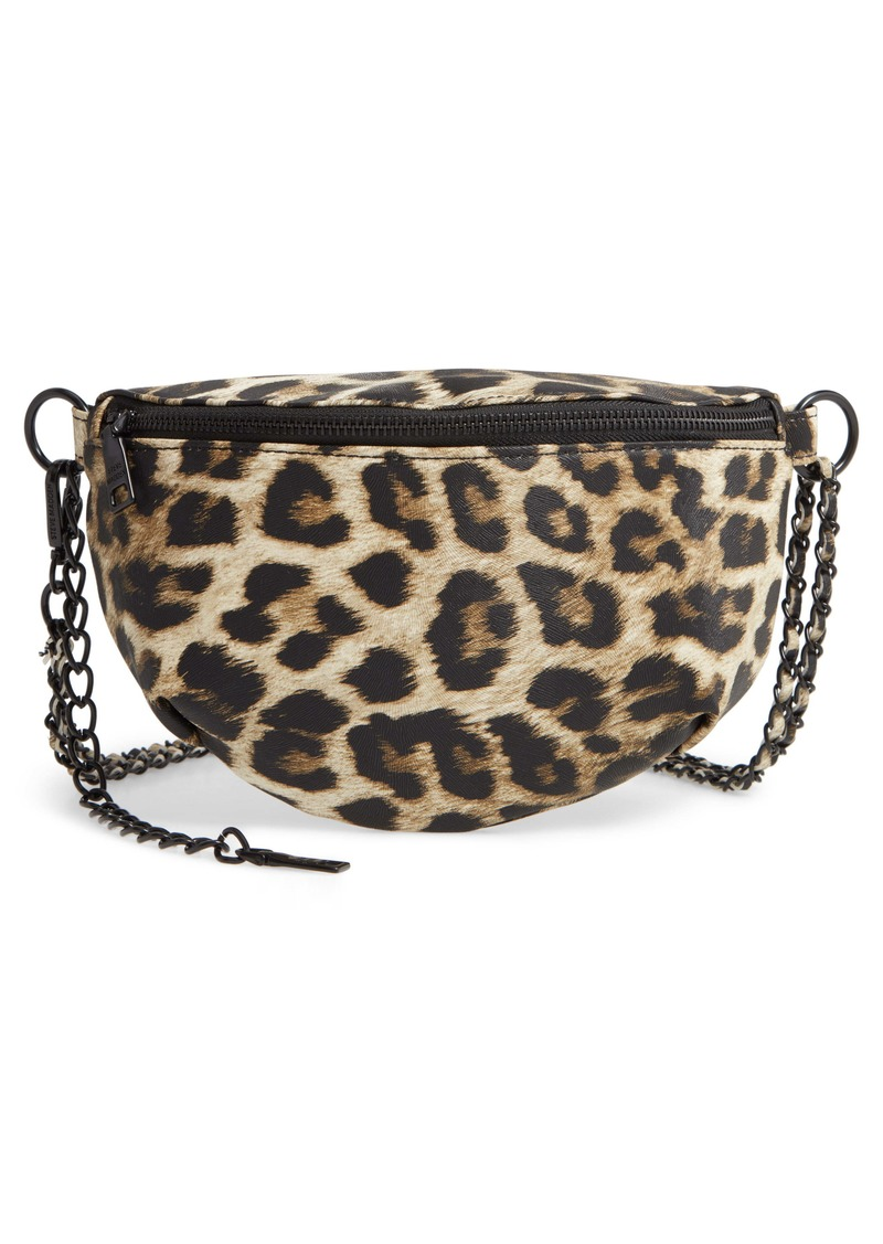 Steve Madden Animal Print Convertible Belt Bag