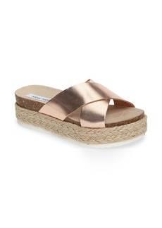 Steve Madden 'Arran' Espadrille Platform Sandal (Women)
