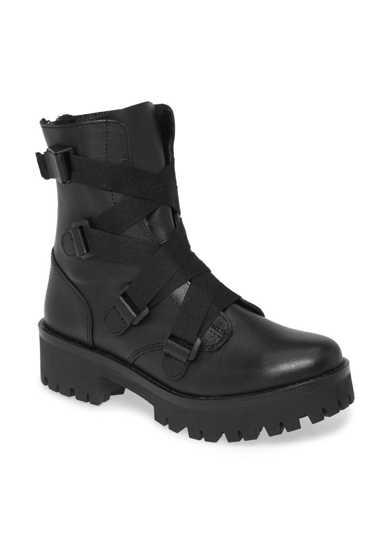 Steve Madden Baine Combat Boot (Women)