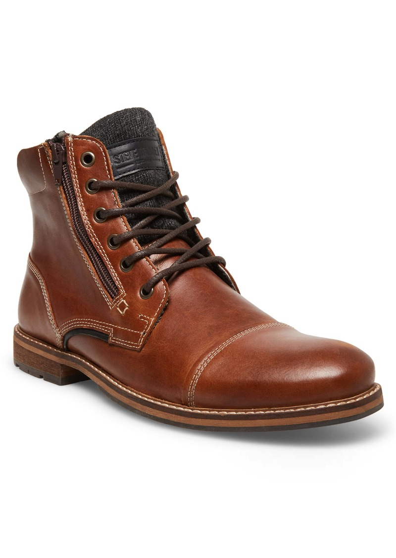 Steve Madden Bayun Cap Toe Boot (Men)