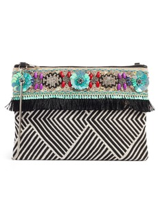 Steve Madden Beaded Clutch