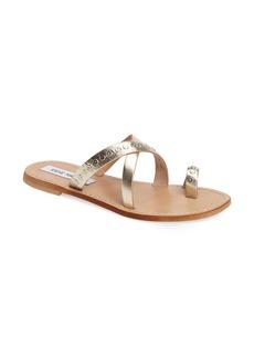 Steve Madden Becky Studded Toe-Loop Sandal (Women)