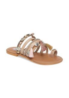 Steve Madden Bejeweled Rippel Sandal (Women)