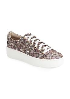 Steve Madden 'Bertie' Glitter Platform Sneaker (Women)