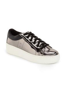 Steve Madden 'Bertie' Metallic Platform Sneaker (Women)