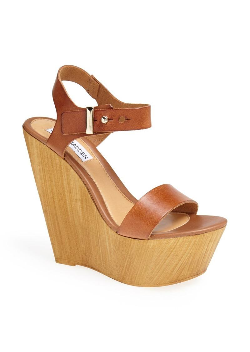 Steve Madden 'Boozey' Wedge Sandal (Women)