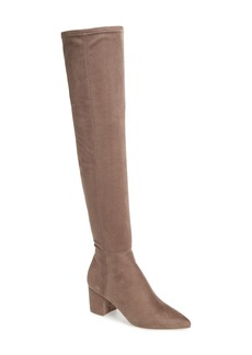 Steve Madden Brinkley Over the Knee Stretch Boot (Women)