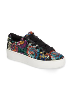 Steve Madden Brody Embroidered Flower Sneaker (Women)