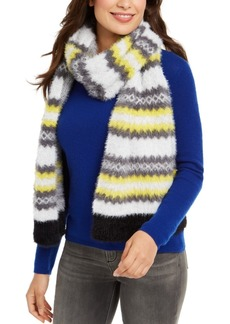 Steve Madden Brushed Knit Chevron Scarf