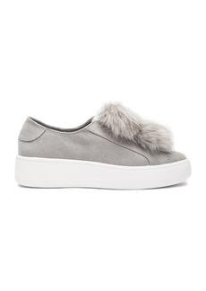 Steve Madden Bryanne Faux Fur Sneaker