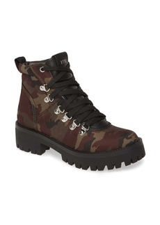 Steve Madden Bumper Camo Platform Hiking Boot (Women)