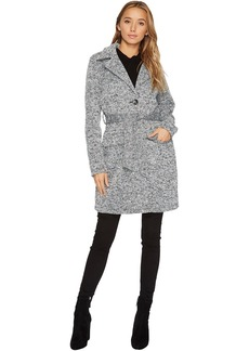 Steve Madden Button Front Wrap Coat