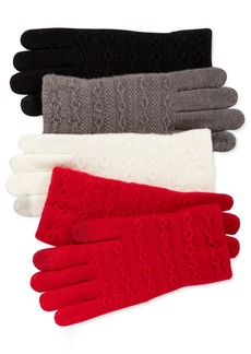 Steve Madden Cable Knit Touch Gloves