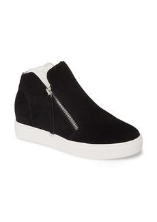 Steve Madden Caliber Faux Fur Lined Sneaker (Women)
