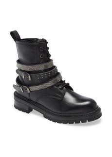 Steve Madden Captain Buckle Boot (Women)