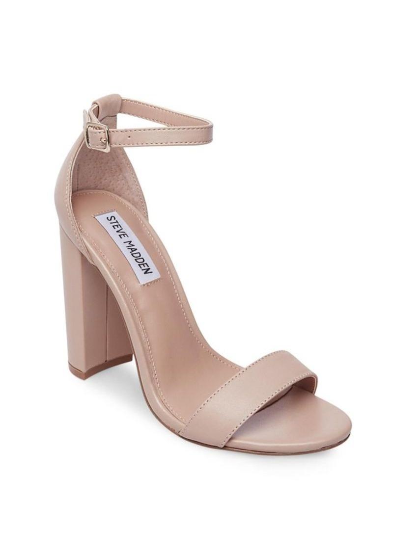 Steve Madden Steve Madden Carrson Leather Ankle-Strap Sandals