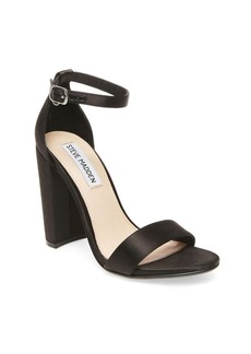 Steve Madden Carrson Satin Ankle Strap Sandals