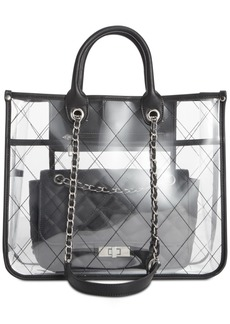 Steve Madden Carry Clear Tote