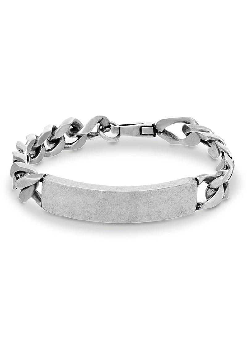 Steve Madden Chain Link ID Bracelet