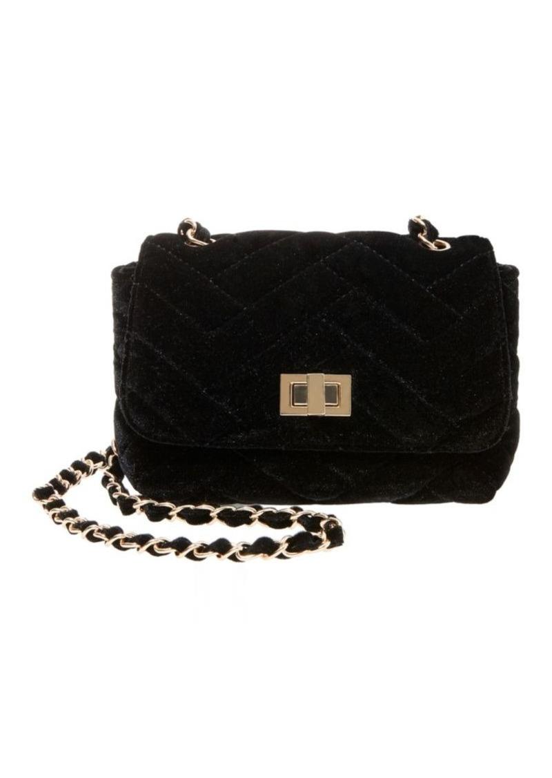 b46534d827c Steve Madden Steve Madden Chant Velvet Crossbody Bag | Handbags