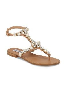 Steve Madden Chantel Crystal Embellished Sandal (Women)