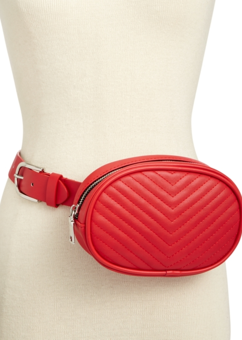 0d68f0a2b On Sale today! Steve Madden Steve Madden Chevron Quilted Fanny Pack
