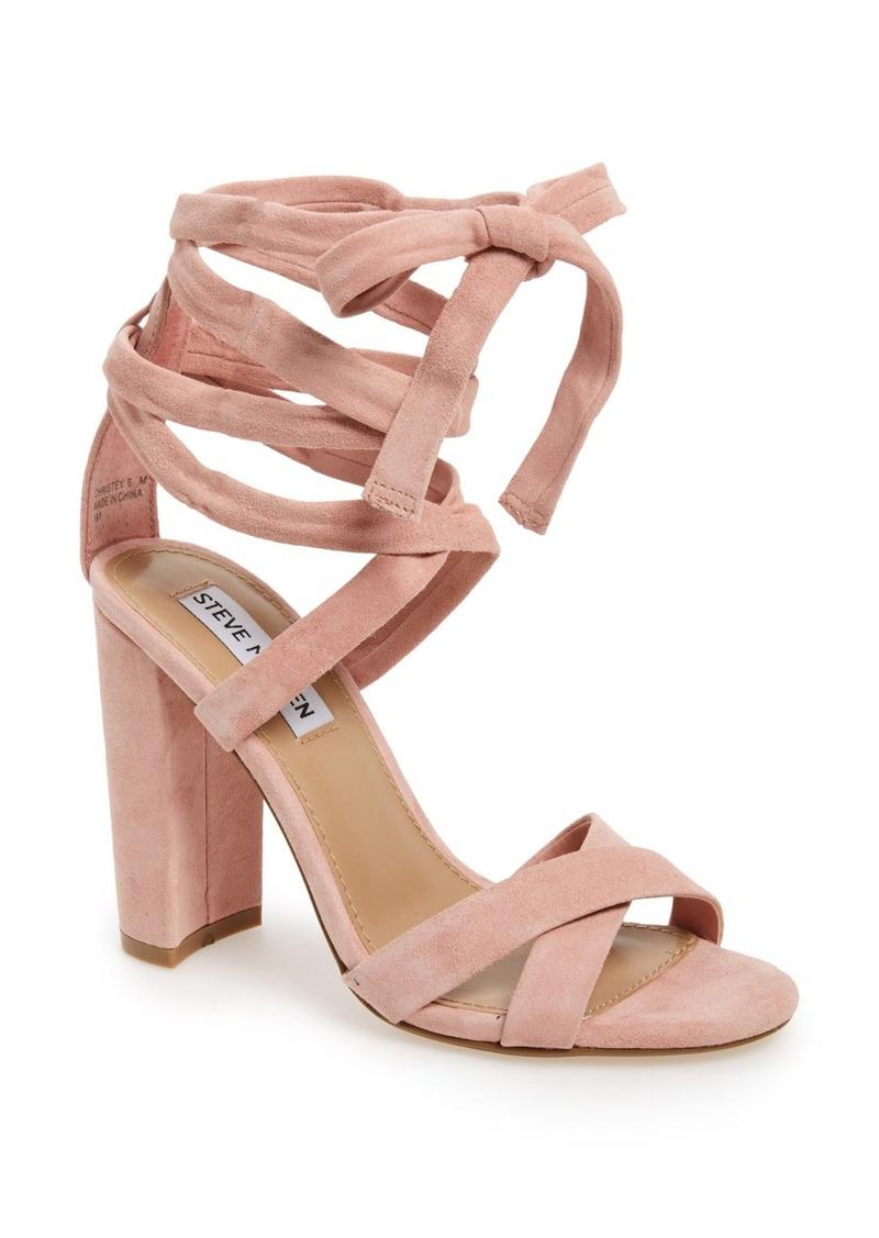 3a7c14c1bbf Steve Madden Steve Madden  Christey  Wraparound Ankle Tie Sandal (Women)