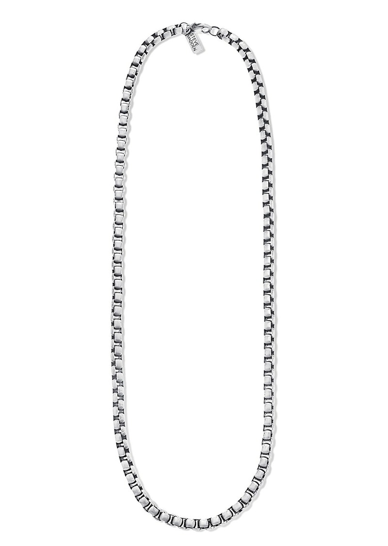 Steve Madden 'Classic' Round Chain Necklace
