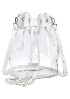 Steve Madden Clear Bucket Bag