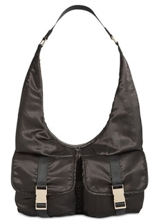 Steve Madden Cole Satin Large Hobo