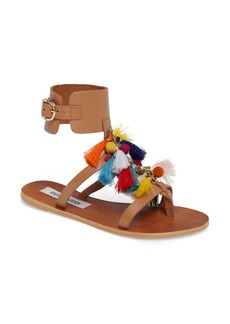 Steve Madden Colorful Tassel Sandal (Women)