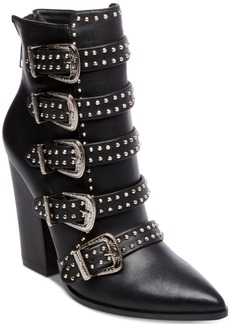 Steve Madden Comet Studded Western Booties