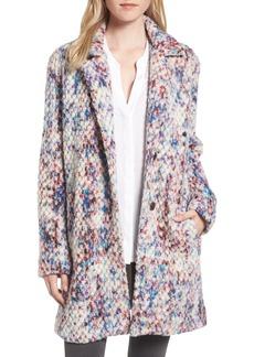 Steve Madden Confetti Wool Blend Coat
