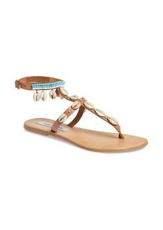 Steve Madden Crete Bead Embellished Sandal (Women)