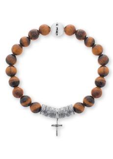 Steve Madden Cross Charm Bracelet