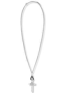 Steve Madden Cross Pendant Necklace