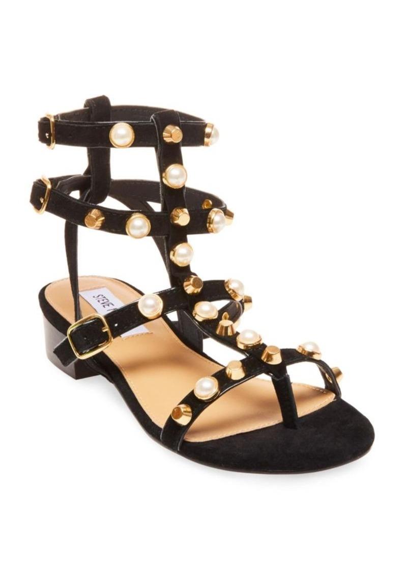 32a4d1003b3 Steve Madden Steve Madden Crowne Wrapped Block-Heel Dress Sandals ...
