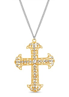 Steve Madden Crucifix Pendant Necklace