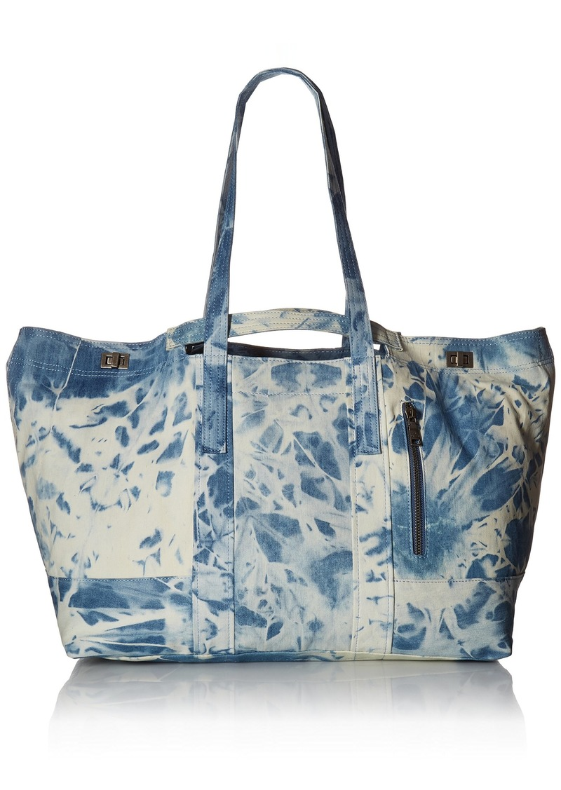 Steve Madden DARLA TIE DIE TRAVEL CARRY ON WEEKENDER TOTE dye