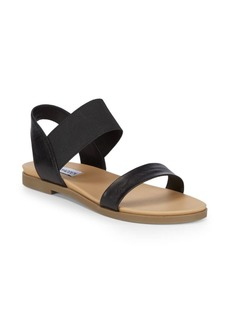 Steve Madden Darnell Leather Flat Sandals