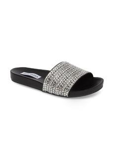 Steve Madden Dazzle Embellished Slide Sandal (Women)
