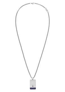 Steve Madden Dogtag Pendant Necklace