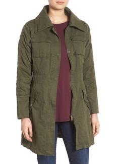 Steve Madden Double Collar Army Jacket