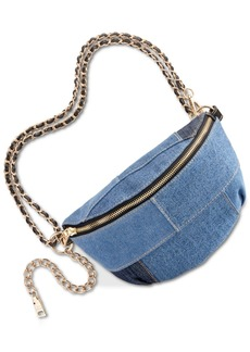 Steve Madden Drama Denim Patch Belt Bag