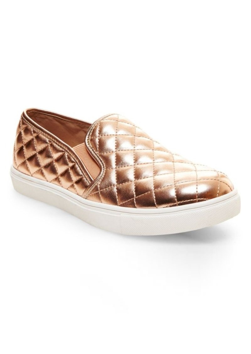91efb222c4 Steve Madden Steve Madden Ecentrcq Quilted Faux Leather Slip-On ...