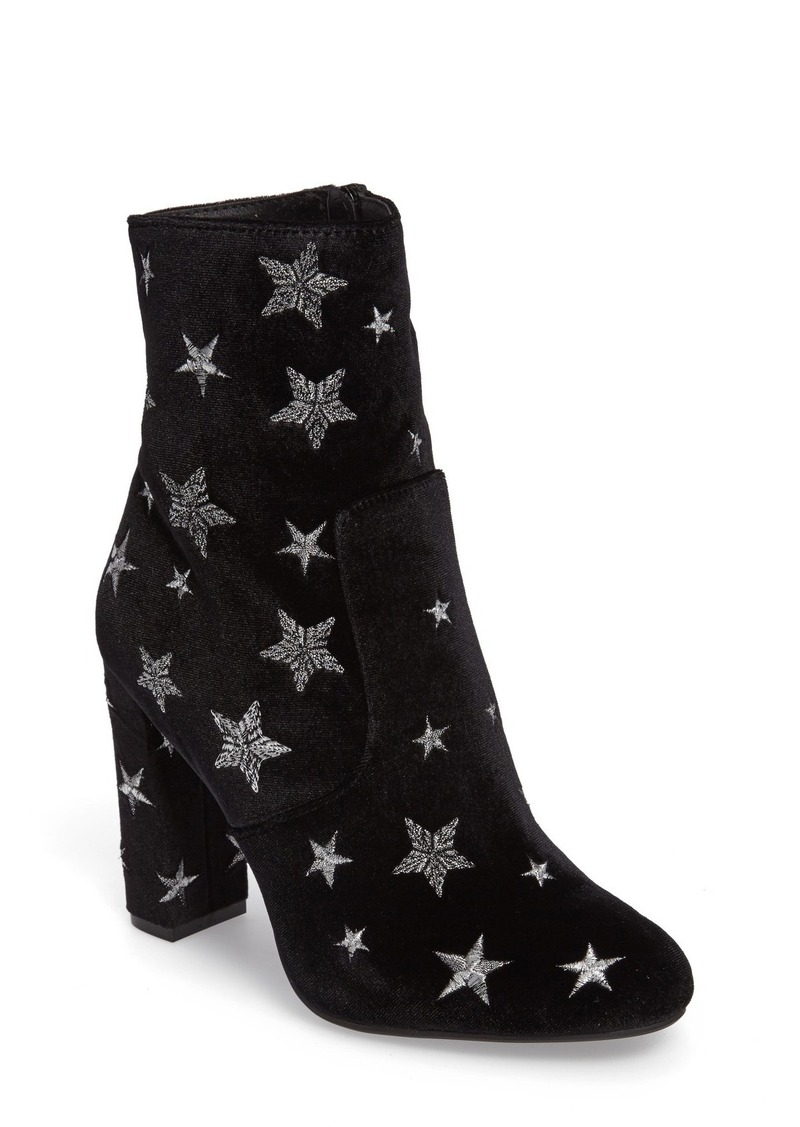 ee5659562614 Steve Madden Steve Madden Edit Embroidered Star Bootie (Women) | Shoes