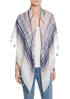 Steve Madden 'Electric Rave' Print Scarf